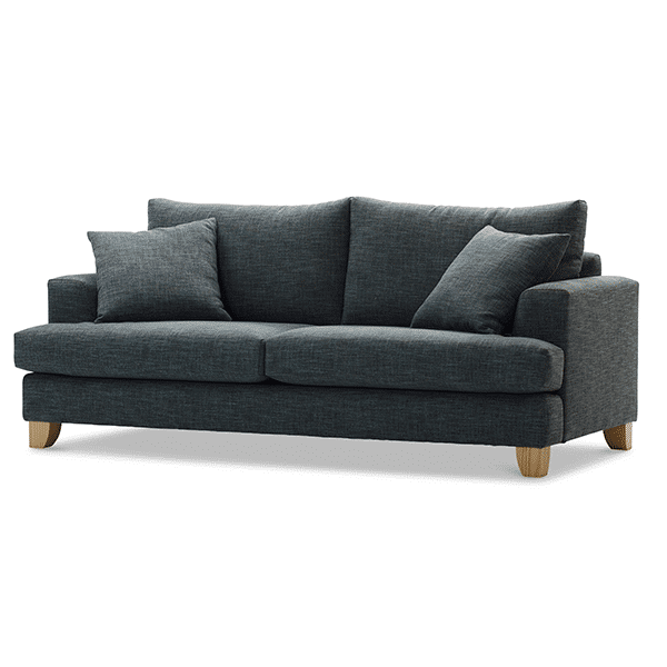 Molmic Kirby Sofa 3s Side view - Oaten's in Casino, NSW