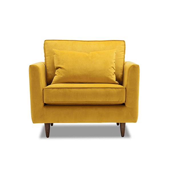 Molmic Polly Chair Plush Tumeric - Oaten's in Casino, NSW